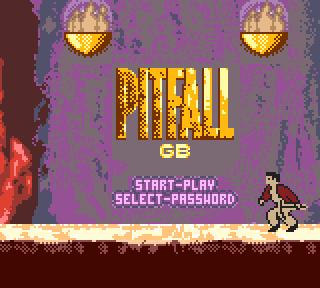 ピットフォールGB (ゲームボーイ) ~財宝を求めて探検家ハリーが行く― 米国の名アクションシリーズ「Pitfall」をゲームボーイで