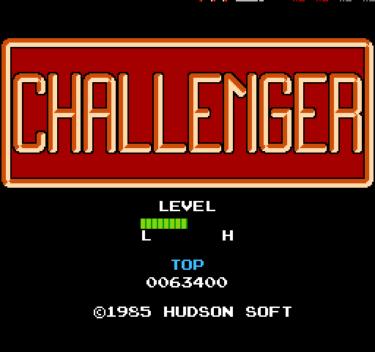 チャレンジャー ~80's洋画的探検アクション要素てんこ盛りのノンストップアクションゲーム